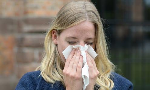 Apunkt akupunktur mod allergi og høfeber