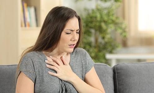 Apunkt akupunktur mod astma