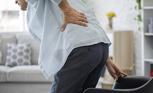 Apunkt akupunktur mod lændesmerter